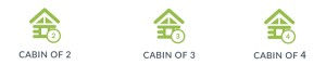 Cabin icons